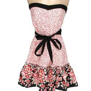 NWT strapless floral dress (241)